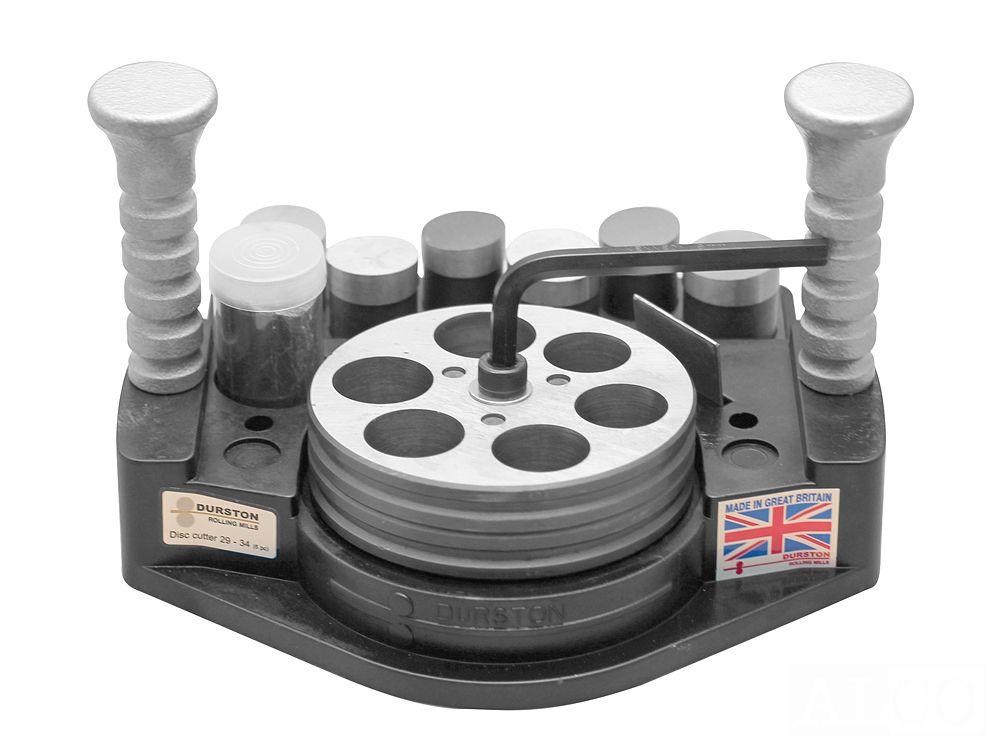 Inteligentny Wykrojnik do metalu 29-34 mm z 6 stemplami Durston - Alco AY02