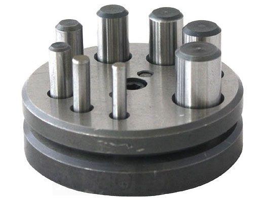 Genialny Wykrojnik do metalu 5-16 mm z 8 stemplami Durston - Alco Narzędzia LB68